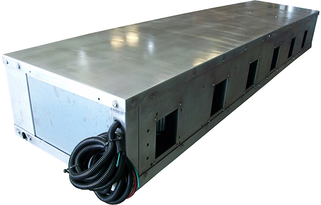 96,000 BTU Low-profile Six-blower Fan Coil Unit
