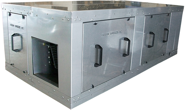 96,000 BTU Makeup Fresh Air Fancoil or Air Handler