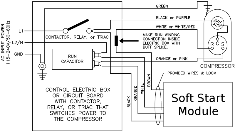 Soft Start Wiring Diagram